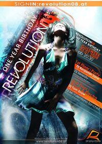 Revolution08 - One Year Birthday Party