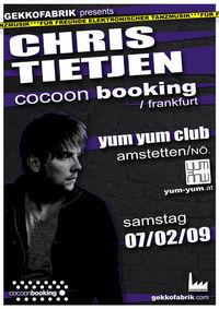 Gekkofabrik mit Chris Tietjen/cocoon@Yum Yum - Club