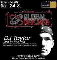 Global Deejays DJ Taylor live@Brooklyn