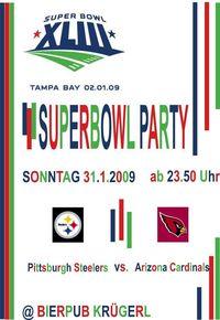 Superbowl 43 LIVE@Bierpub Krügerl