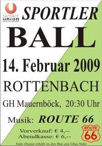 Sportlerball der Union R.@GH Mauernböck