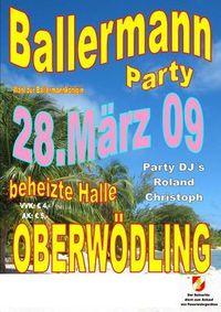 BALLERMANNPARTY   ***ICH BIN DABEI***!!!!!