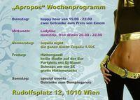 Spezial Events@Apropos