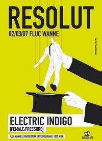 Resolut with Electric Indigo