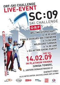 ORF-Ski Challenge@Uniqa Tower