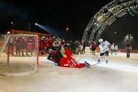 Dancing Stars live bei der Eishockey-Charity@Rathausplatz