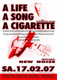 A Life, A Song, A Cigarette@Culture X Club
