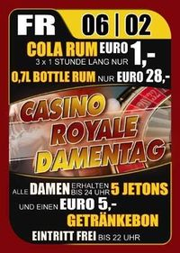 Casino Royale Damentag@Ballegro