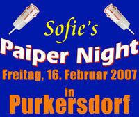 Paiper Night@Die Bühne
