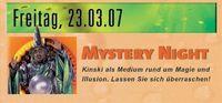 Mystery Night@Kinski