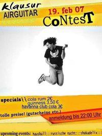 AirGuitar Contest@Klausur