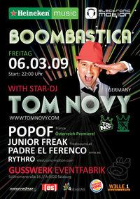 Boombastica with Tom Novy
