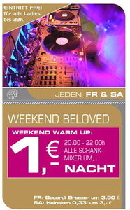 Weekend Beloved@Starlight