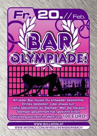 Bar Olmpiade@Bollwerk
