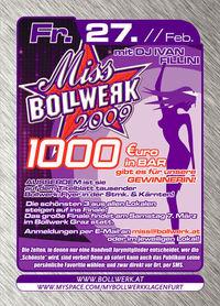 Miss Bollwerk 2009@Bollwerk Klagenfurt
