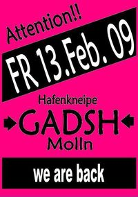 We are back!@Gadsh
