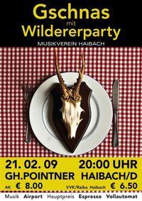 Gschnas mit Wildererparty@Gasthof Pointner
