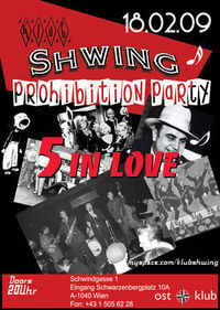 Klub Shwing Prohibition@OST Klub