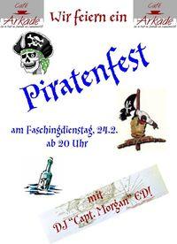 Piratenparty@Café Arkade