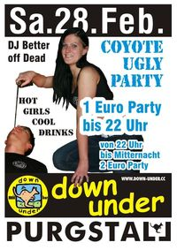 Coyote Ugly Party@Down Under