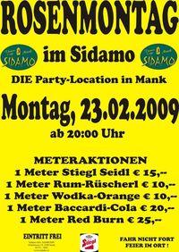 Rosenmontag@Cafe Sidamo Mank