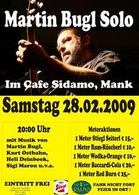 Martin Bugl Solo@Cafe Sidamo Mank