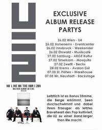 U2 Album Releaseparty@Weekender Club