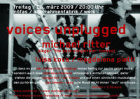 songwriter abend - voices unplugged@Nöfas