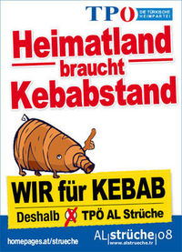 FPÖ: Dönerstand statt Heimatland