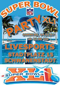 Super Bowl Party@Livesports Wettbüro
