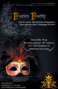 Purim Party@Apropos