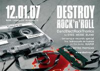 Destroy Rock'n'Roll@Club Wirr