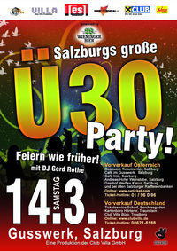 Salzburgs grosse Ü30 Party