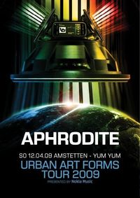 Urban Art Forms pres. Aphrodite (UK)@Yum Yum - Club