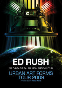 UAF Warm up tour – Ed Rush