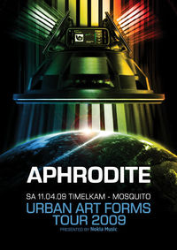 UAF Warm up Tour -  Aphrodite@Mosquito Musikclub