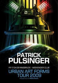 Uaf Warm Up Tour – Patrick Pulsinger@Weekender Club