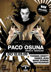 Club MNML mit Paco Osuna@Camera Club