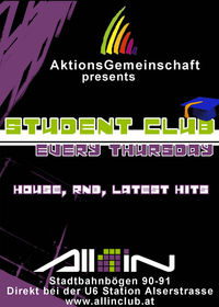AG student club@All iN
