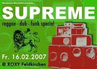 Supreme - Reggae - Dub - Funk Special@Roxybar