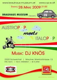 Austropop meets Italopop@Brauhaus Museum