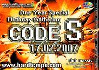 Code S - Birthday@Club Massiv