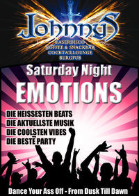 Saturday Night Emotions@Johnnys - The Castle of Emotions