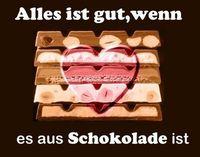 Gruppenavatar von Oh Schokolade du bist mein Feind,doch in der Bibel stehts geschrieben,man soll auch seine Feinde lieben...