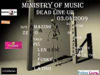 Ministry of Music DEAD Line up@Šariš Pub Jazero