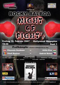 Night of Fight@Hollywood Megaplex