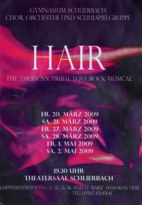 Hair - The American Tribal Love Rock Musical@Theatersaal