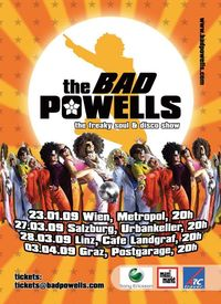 The Bad Powells – The Ultimative Freaky Soul & Disco Show