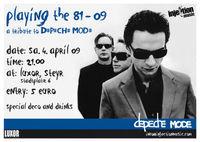 Depeche Mode Night - PLaying the 81-09 - a tribute to DEPECHE MODE!