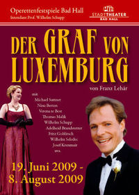 Der Graf von Luxemburg@Stadttheater Bad Hall